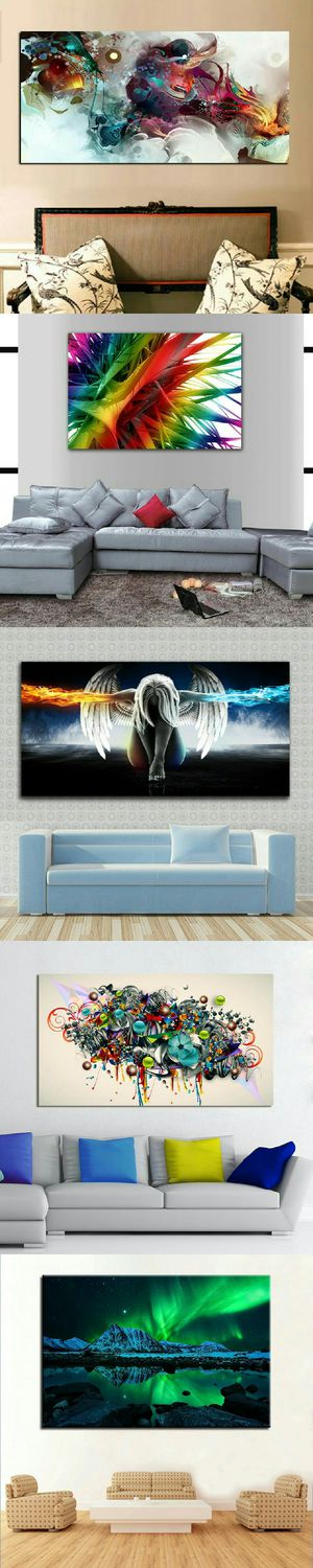 """Abstract Artwork Modern Framed Wall Art Oil Painting Canvas Print Picture Home Room Decor """"SIZES ARE ON THE DESCRIPTION"""" for Sale in Las Vegas, NV"""