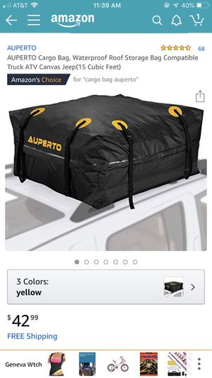 Roof storage bag for Sale in Oxnard, CA