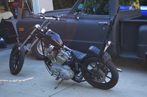 Harley Davidson chopper for Sale in San Diego, CA