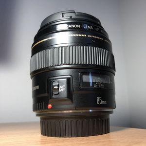 Canon 85mm f1.8 for Sale in Spokane, WA