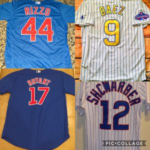 Chicago cubs jerseys all players for Sale in Chicago, IL