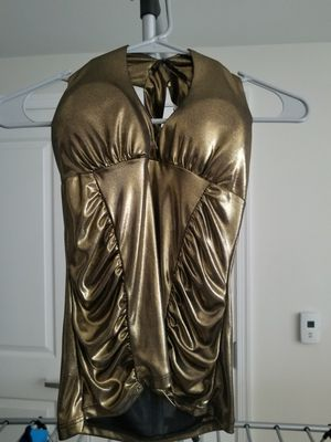 Metallic Gold Halter top, NEW!!! for Sale in Potomac, MD