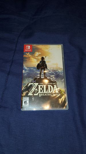 Zelda Breath of the Wild for Sale in Lacey, WA