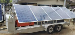 Solar trailer for sale now 30% off for Sale in Los Angeles, CA
