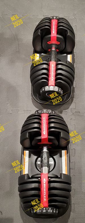 Brand New Original Bowflex SelecTech 552 Dumbbells set of 2 for Sale in West Covina, CA