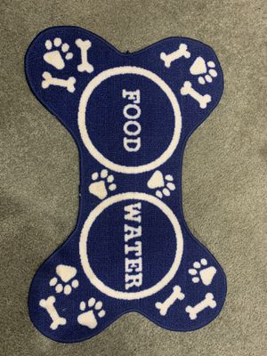 Dog food mat - FREE for Sale in Hilliard, OH
