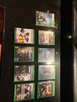 Xbox one games for Sale in Azusa, CA