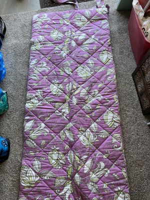 Twin size floral sleeping bag. for Sale in Livermore, CA