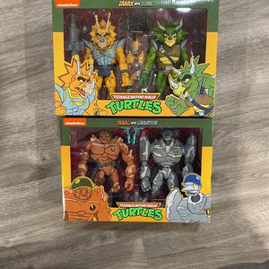 Neca TMNT Zarax And Zork / Traag And Granitor for Sale in Fair Lawn, NJ