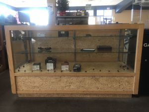 Wooden Display Case for Sale in Henderson, NV