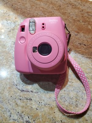 Pink Fujifilm instax mini 9 with unused film! for Sale in Littleton, CO