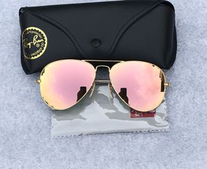 Ray ban aviators 3025 rose gold lenses sunglasses for Sale in San Francisco, CA