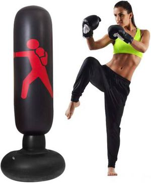 63inch Inflatable Kids Punching Bag-Free Standing Boxing Bag,Inflatable Punching Bag for Adults and Kids,Free Standing Boxing Toy Youth Boxing Bag for Sale in Pomona, CA