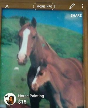 Horse painting for Sale in Pittsburgh, PA