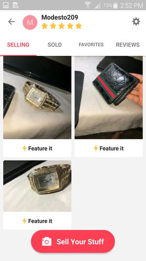 Watch and Gucci wallet for Sale in Modesto, CA