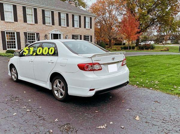 Price$1000 URGENT Selling my 2012 Toyota Corolla