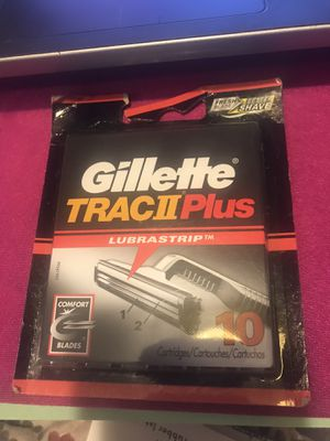Gillette Trac11Plus 10pack for Sale in Greensboro, NC