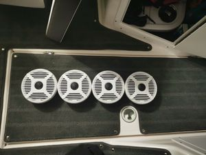 "Marine Audio 6.5"" 2- way Speakers. Fresh off a 2019 boat. Basically New for Sale in Miramar, FL"