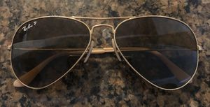 Ray Ban aviator sunglasses-polarized for Sale in Tomball, TX