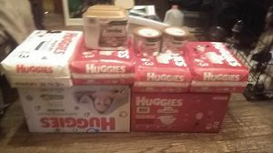 Diapers and Similac pro sensitive for Sale in Obetz, OH