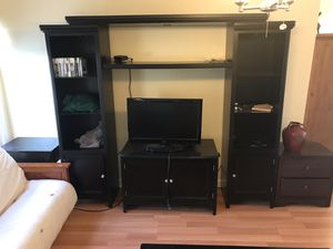 6 Piece Black Living Room Set for Sale in Fairfax, VA