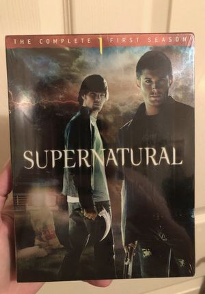 Supernatural TV show 1st season unopened for Sale in Tyler, TX