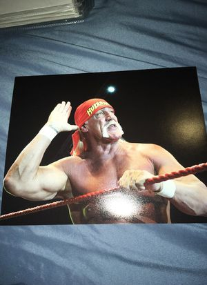 Hulk Hogan 8x10 Photo Poster for Sale in Tempe, AZ