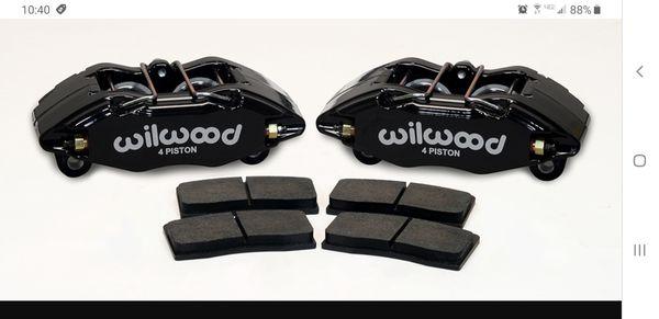 Wilwood dynapro Honda/Acura caliper and pad kit