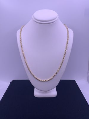 """Gold Rope Chain 12.4g 14kt 18"""" for Sale in Phoenix, AZ"""