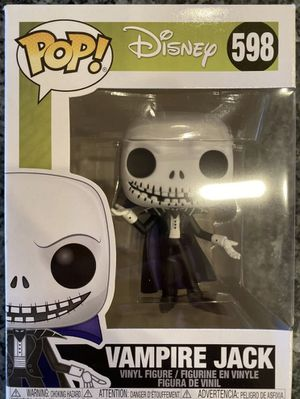 Funko POP! Disney - The Nightmare Before Christmas - #598 - Vampire Jack for Sale in Lowellville, OH