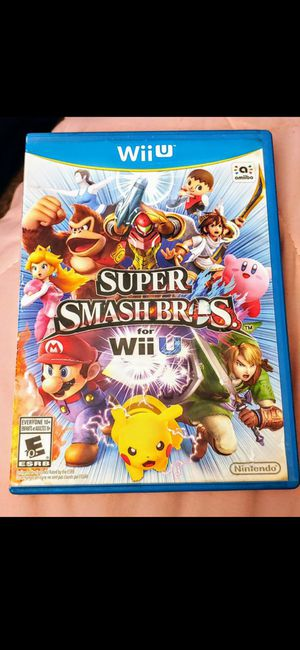 NINTENDO Wii U SUPER SMASH BROS NEW 100%💥💥 for Sale in Escondido, CA