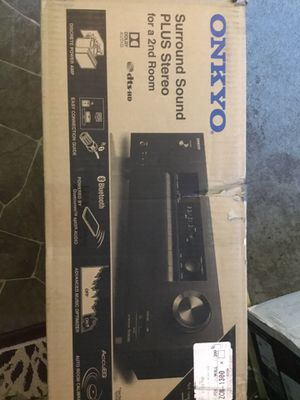 Onkyo surround sound plus stereo for Sale in Philadelphia, PA