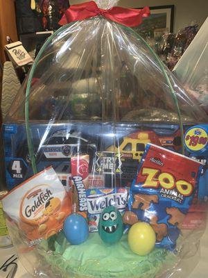 Boys easter basket $18 for Sale in Sylmar, CA