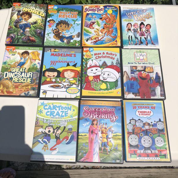 11 kids TV shows DVDs
