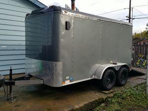 7x14 Interstate Loadrunner enclosed trailer for Sale in Portland, OR