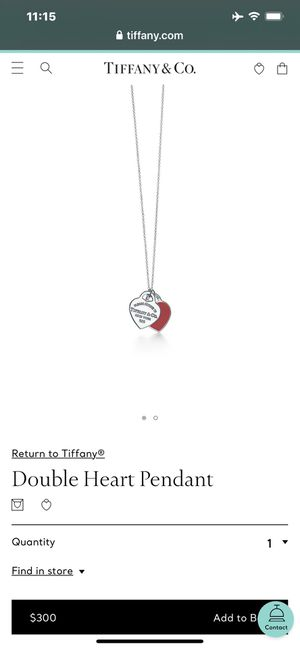 Brand new return to Tiffany heart necklace for Sale in Winton, CA