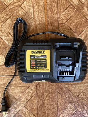 DeWalt. 12V/20V Lithium Ion 6 Amp. Multi-Voltage Battery Charger. DCB1106. for Sale in Brooklyn, NY