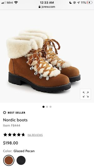 Nordic boots J.Crew size 7 for Sale in Clarendon Hills, IL