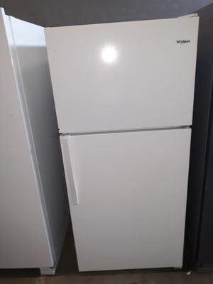 NEVER USED WHIRLPOOL REFRIGERATOR AT DMV WHOLESALE for Sale in Lorton, VA
