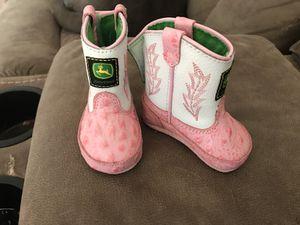 Newborn shoes John Deere for Sale in Grosse Pointe Farms, MI