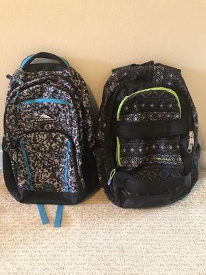 School youth backpacks for Sale in Issaquah, WA