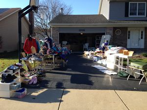 Garage sale 1308 cortland dr Naperville 6/10 for Sale in Naperville, IL