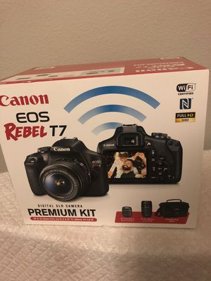 Canon EOS REBEL T7 Digital SLR Camera for Sale in Houston, TX