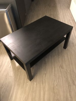 Black Coffee Table for Sale in Seattle, WA