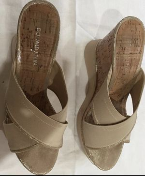 2 PAIRS Trendy Donald Pliner wedge women's shoes for Sale in Miami, FL