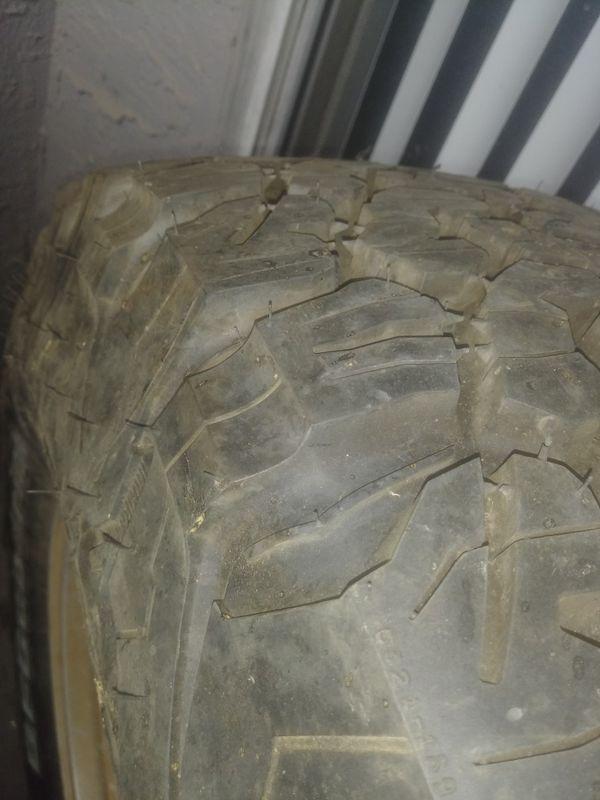Jeep Rubicon wheel 17