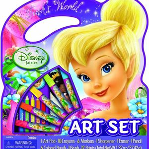 Disney Cars And Fairies Art Set for Sale in Springfield, MA