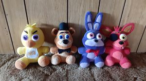 Five Nights at Freddy's plushies for Sale in Tracy, CA