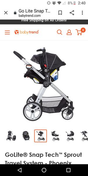Snap and go Car Seat + Stroller Combo for Sale in Denton, MD