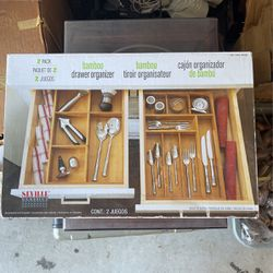 Bamboo Drawer Organizer (2pack) for Sale in San Diego,  CA